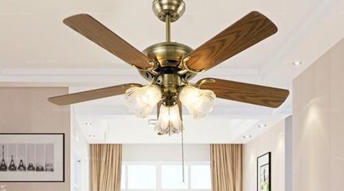 6,电扇吊灯内不得添加任何固态电路或是加速调节器等一些装置.